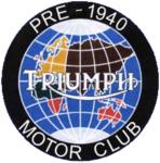 pre1940 triumph motor club